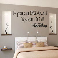 Inspiring Quotes Wall Sticker Art Decal Mural Wall Stickers Kids Room Home Decor