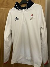 Adidas Team GB Olympic Rio 2016 Athletes Issue Fleece Top 42-44