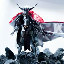 """1/12 Scale Custom Red Silver Wired Robe Cloak for 6"""" Figure Figma Mordred Fate"""