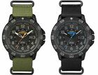 Timex Men's Expedition Gallatin Nylon Strap 24-Hour Tactical Dial Outdoor Watch