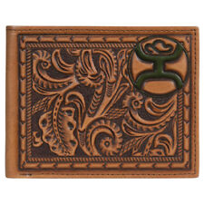 Hooey Saddle Brown Tooled Bifold Wallet 1824138W3