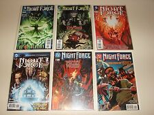 Night Force (1996)  1, 2, 3, (2012) 1 to 7 DC Horror, Wolfman, Anderson,Mandrake