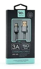 iPad iPhone 5 6 7 8 FAST CHARGE CABLE 50cm Braided 3 A Amp Plus iOS Hi Quality +