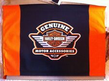 """Harley-Davidson NOS Genuine Motor Accessories Canvas Banner  40""""W x 28""""H"""