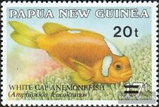 Papoea-Guinee 592 (compleet.Kwestie.) postfris MNH 1989 Anemonenfische