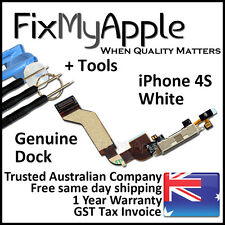 iPhone 4S OEM Dock Connector Microphone White Flex Cable Replacement Tools Kit