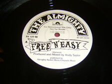 """12"""" THE ALMIGHTY - FREE N EASY/BODIES/HELL TO PAY PROMO RICKY WARWICK THIN LIZZY"""