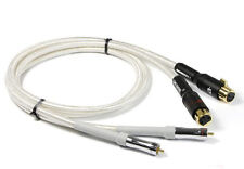 NEW  2 XLR Female to 2 RCA Male HiFi Quality Cables  Balance