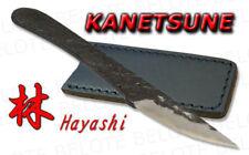 Kanetsune Seki HAYASHI WhiteSteel Knife + Sheath KB-221
