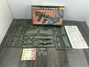 Vintage Heller PZL P23 A/B Karas 1/72 Scale Model Kit 247 NEW OLD STOCK Rare