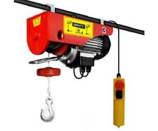 400/800KG 1300 Watt Motor Electric Hoist 18M Height Heavy Objects Lifting Winch