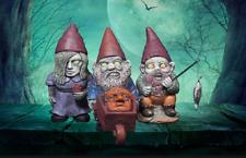 Garden Zombie Gnome Mini Set Decor Statue Scary FIgurine Outdoor Backyard Party