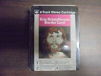 "~~~SEALED~~~~ ""Kris Kristofferson"" Border Lord   8 Track Tape"