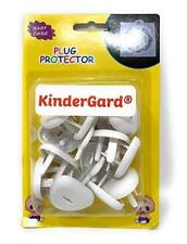 Kindergard Babyproof Outlet Covers, 24 pack White, Electrical Safety Outlet Plug