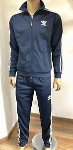 ADIDAS *originals* SPORT Anzug NEU Rar Rarität 90-er Sport Suit, Dunkelblau