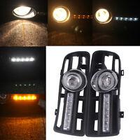For 97-2006 VW GOLF MK4 Bumper Grille Driving Lamp Fog Light LED Switch Harness