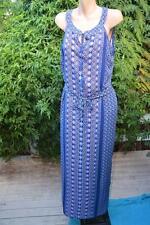 NEW Crossroads MAXI DRESS Size 16. $49.95. Linear Geo Print Side Slits-Tie Waist