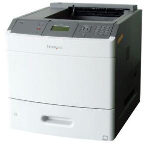 Lexmark T654dn S/W Laser Printer B/W Printer 53 S Min. 53 Ppm Defective/Faulty