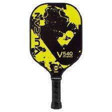 New Vulcan  V540 Hybrid Pickleball Paddle Yellow Splatter