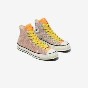 Converse Chuck Taylor 70 High Top JW Anderson Glitter Shoes 164695C Size 11 Mens
