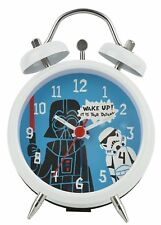 Star Wars Darth Vader Twinbell Mini Alarm Clock. Childs Bedroom Sci Fi Cool Gift