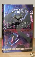 RICK RIORDAN THE BATTLE OF THE LABYRINTH UK SIGNED DATED 1st PRINT NEW & UNREAD