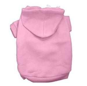 Pink Dog Hoodie Hoody  All Sizes Short Sleeve Sweatshirt Ribbed Cuff & Collar