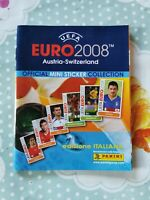 Panini Euro 2008 Mini Album Empty Italian Version