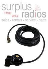 BLACK TRAM TRUNK MOUNT NMO UHF VHF MINIUHF CONNECTOR MOTOROLA CM300 CM200 CDM750