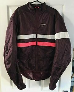 Rapha xxl insulated jacket plum cycling.