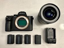 Sony Alpha A7 II Mirrorless Digital Camera w/ 4/16 - 35mm Lens Zeiss