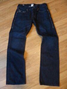mens TRUE RELIGION jeans - size 32/33 mint condition !