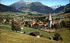 SAANEN MOB Alpen Kanton Bern Schweiz ~1970 Postkarte Ansichtskarte ungelaufen