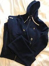 AUTHENTIC Polo Ralph Lauren Fleece Tracksuit Hoodie Slim Fit Sweat Pants BNWT