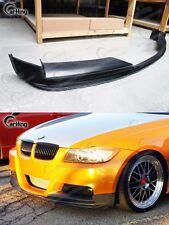 CARKING UNPAINTED 06-09 BMW E90 PRE-LCI M-TECH M-SPORT 3D FRONT LIP SPLITTER