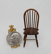 Vintage Windsor Toy Chair By William Clinger Artisan Dollhouse Miniature 1:12