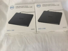 Auction is for 2 / Dell Dw316 External USB Slim DVD RW Optical Drive *New in Box