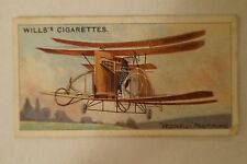 Vintage - 1910 - Wills Vice Regal - Aviation Series Card - Vedovelli Multiplane
