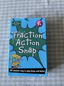 Fraction Fundamentals Snap and Pairs Card Game - Educational Game for Children