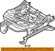 FORD OEM 15-16 F-150 Front Seat-Seat Cushion Frame Left FL3Z9661711E