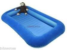KAMPA JUNIOR CHILDS AIRBED WITH BUMPER SIDES BLUE FREE DELIVERY