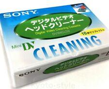 Une cassette k7  MINI DV SONY  nettoyage cleaner DVM4CLD2 neuf