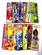 12 x Variety Packs  EZ ROLL TUBE  Flavored  Wraps cigar  Rolling Paper