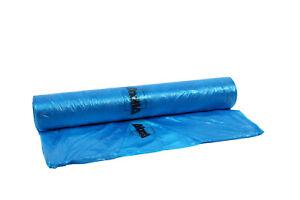 AllorA Abdeckfolie Lackierfolie HDPE blau-transparent 4m(Breite) 300M(Länge)