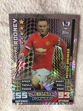 Match Attax Attack 2014/15 Wayne Rooney Record Breaker