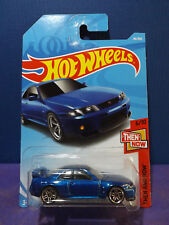 2018 Hot Wheels NISSAN SKYLINE GT-R R33- HW Then & Now Series 6/10. Long Card