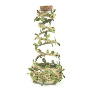 Decal DIY Craft Ribbon Burlap Rope Natural Hessian Artificial Leaf Jute Twine