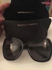 "New BARTON PERREIRA SUNGLASSES WOMENS  ""RIVIERA""**  Black Retail $495"