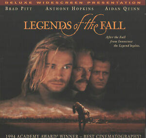 Legends of the Fall Deluxe Widescreen Presentation (Laserdisc, 1995) VG+ Discs