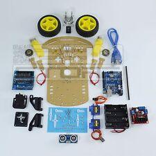 KIT COMPLETO robot 2 ruote - chassis piattaforma shield arduino pic - ART. CS03